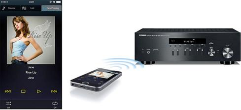 Yamaha R N301 Network Stereo Receiver With Spotify Connect