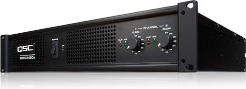 QSC 2-channel Amplifier 650 watts per ch at 4ohms