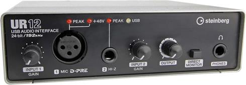 Steinberg UR computer audio interface