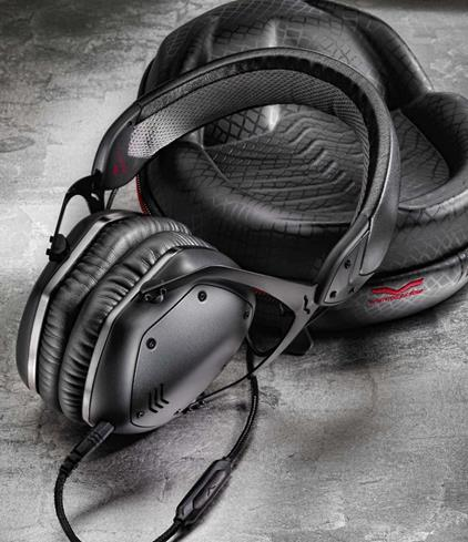 headphones pictured in black