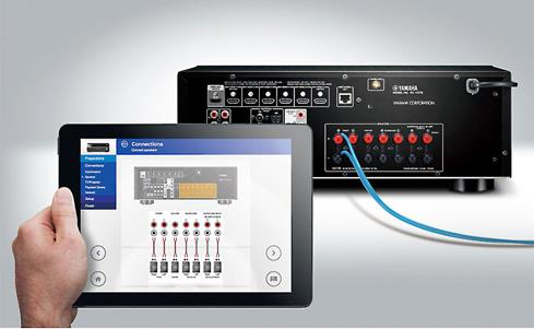 Yamaha's AV Setup Guide for iOS® and AndroidT