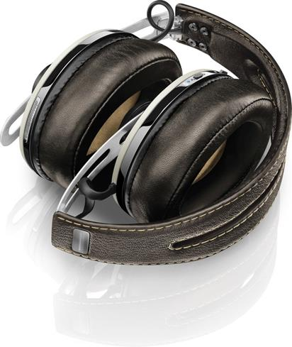 Momentum headphones, folded