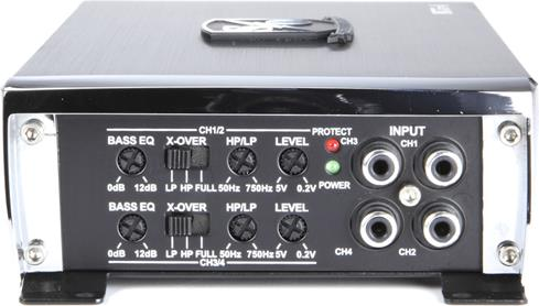 Sound Ordnance M75-4 75W x 4 Car Amplifier