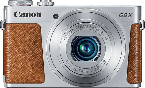 The Canon PowerShot G9 X offers optical zoom, convenient manual control, and excellent low-light performance in a slim, attractive chassis.
