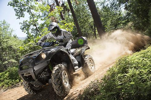 Go off-road with the Boss ATV30BRGB