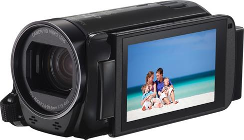 The Canon VIXIA HF R70 lets you share special family moments immediately, and then save them forever.