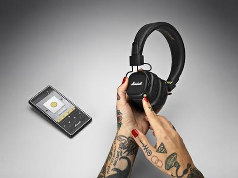 Marshall Major II Bluetooth wireless on-ear headphones