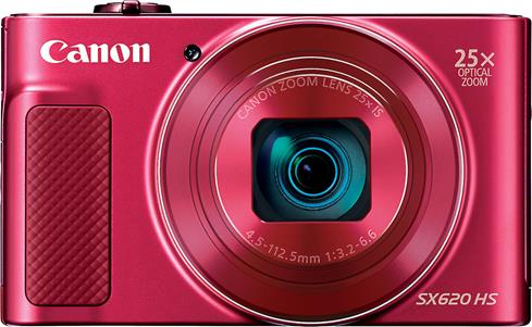 The Canon PowerShot SX620 HS is small enough to go anywhere, and it packs an amazing 25X optical zoom so you can get closer to the action.