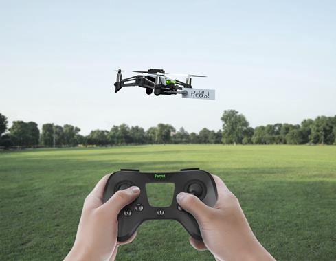 The Parrot Flypad is a compact remote controller that's compatible with a number of Parrot minidrones.