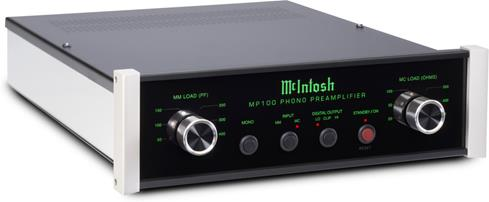 The McIntosh MP100 offers fine control over load matching so you can get the best possible sound out of your record collection.