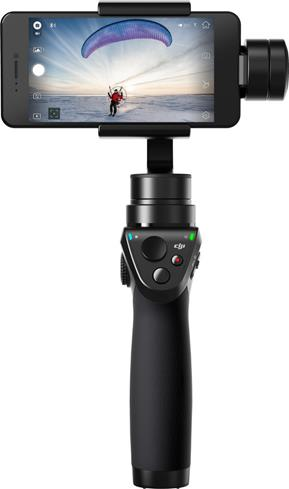 The gimbal on the DJI Osmo Mobile helps you shoot rock-steady video with your smartphone.
