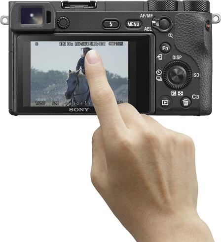 Sony a6500 touchscreen