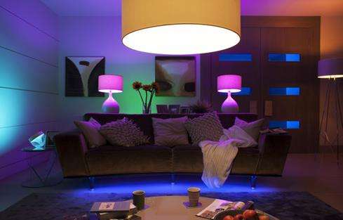 Philips Hue A19 White and Color Ambiance Bulb