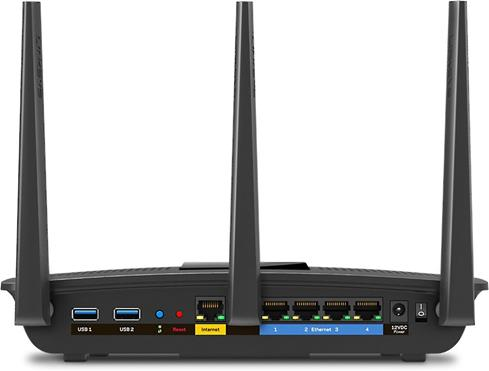 The Linksys EA7500 offers super-fast wired and wireless connections.