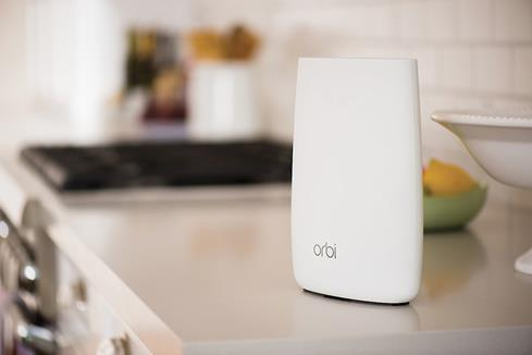 Need a little extra Wi-Fi® coverage? Add an Orbi Sattelite and you'll get a lot