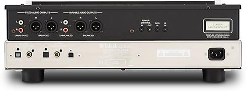 McIntosh MCD cd sacd player back panel