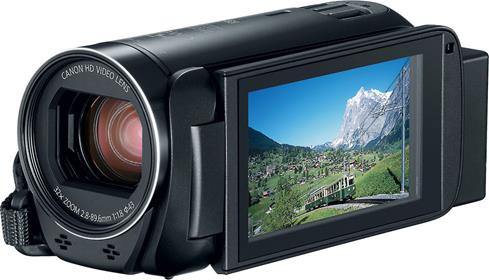 The Canon VIXIA HF R80 lets you share special travel moments immediately, and then save them forever.