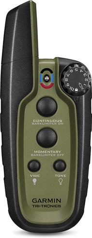 The intuitive four-button remote lets you correct your dog from up to 3/4-mile away.