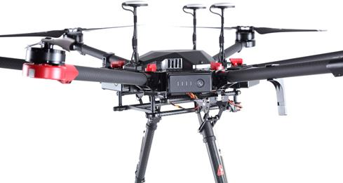 With six rotors and DJI's A3 Pro controller kit pre-installed, the Matrice 600 is ready for the most challenging professional environments.