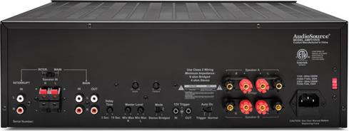 AudioSource AMP310VS stereo multi-source power amplifier