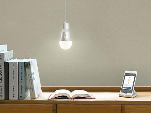 The customizable TP-Link LB110 Smart Bulb lets you adjust brightness for any room or mood.