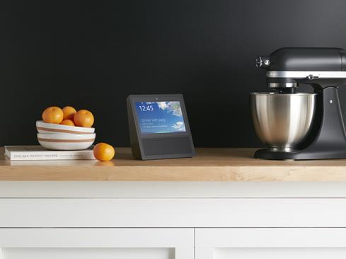 The Amazon Echo Show can display a how-to video of your recipe while you follow along.