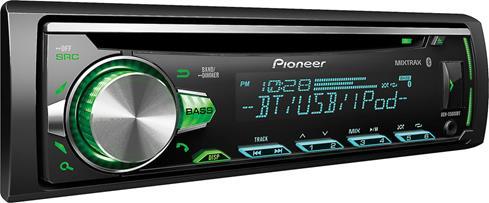 Pioneer DEH-S5000BT CD receiver at Crutchfield