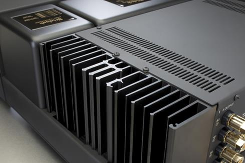McIntosh MAC7200 monogrammed heat sinks