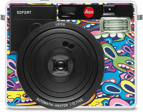 The limited-edition Leica Sofort LimoLand by Jean Pigozzi