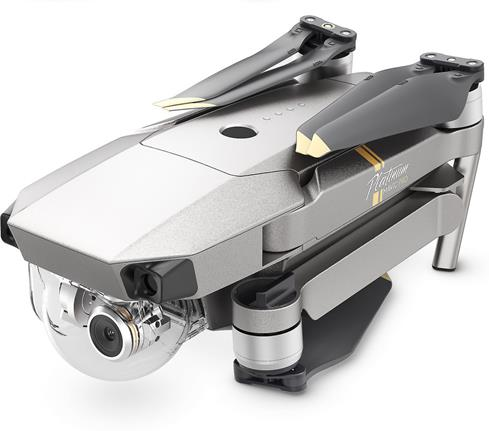 DJI Mavic Pro Platinum folded up for transport
