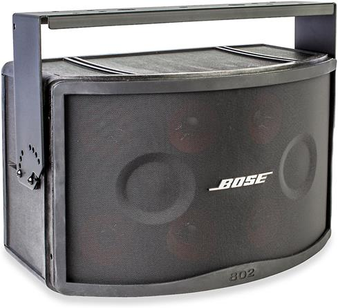 Bose Panaray 802 Series IV speaker with optional mounting bracket