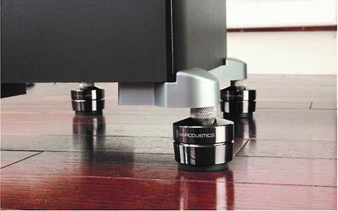 IsoAcoustics GAIA III speaker isolation feet