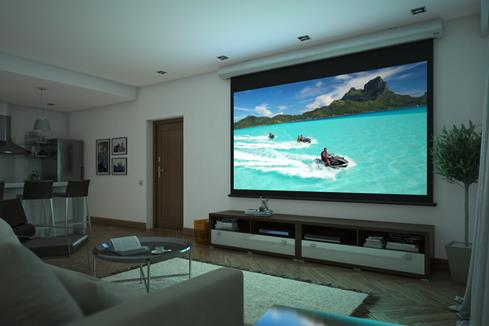 Screen Innovations 1 Series motorized screen