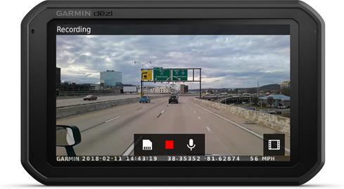 Garmin dezlCam 785 LMT-S portable navigator with dash camera