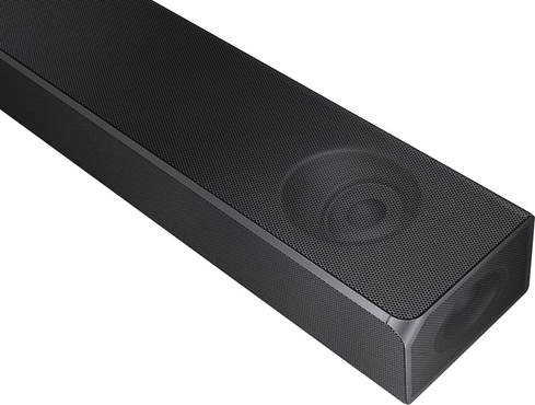Samsung HW-N850 sound bar has upfiring and sidefiring drivers for a more immersive cinema-like experience.