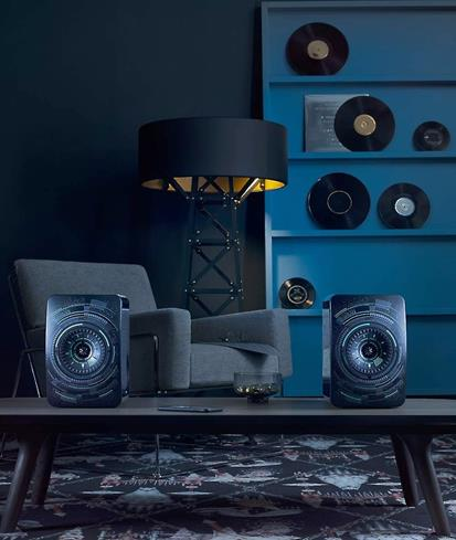 KEF LS50 Wireless speakers, Nocturne edition