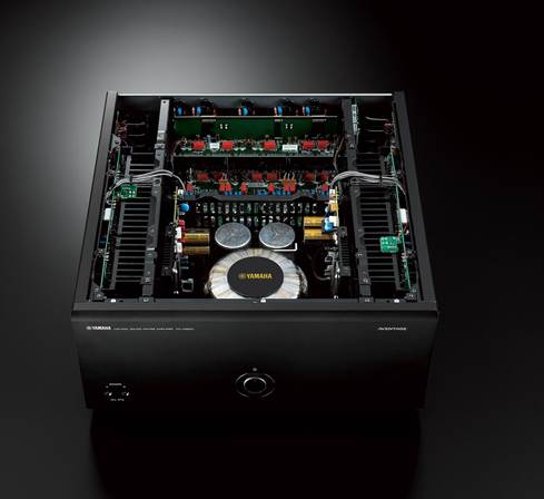 Yamaha MX-A5200 internal circuitry and power supply