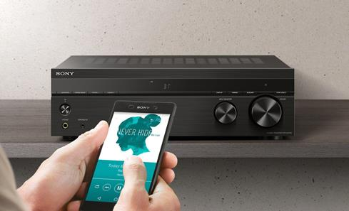 Sony STR-DH190 stereo receiver with Bluetooth