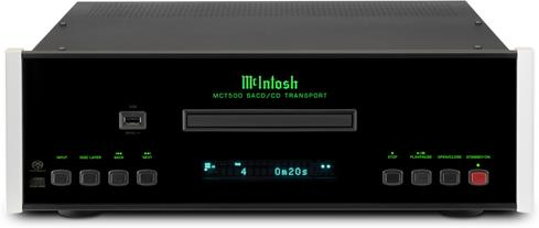 McIntosh MCT500 cd sacd transport angled front view