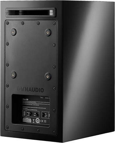 Back of Dynaudio Xeo 20 powered speaker