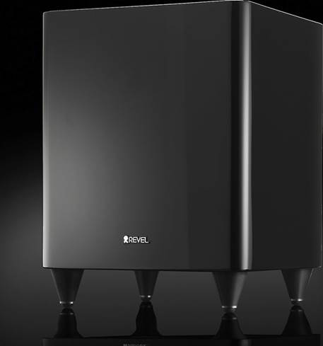 Revel Concerta B8 wireless compact powered subwoofer