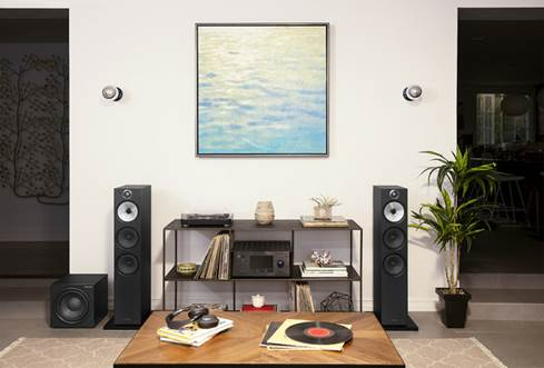 Bowers & Wilkins ASW610 powered subwoofer