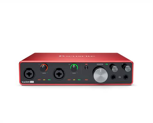 Focusrite Scarlett 8i6 computer audio interface