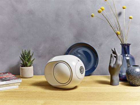 Devialet Phantom Reactor 900 Matte Black Wireless Powered Speaker System With Apple Airplay Bluetooth And Wi Fi At Crutchfield
