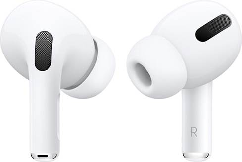 Closeup of the Apple AirPods Pro