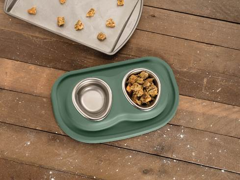 WeatherTech Double Low Pet Feeding System