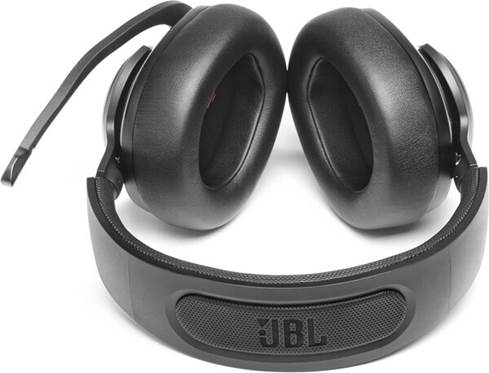 Top view of the JBL Quantum 400 headset