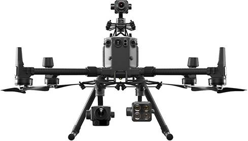 DJI Matrice 300 with multiple payloads