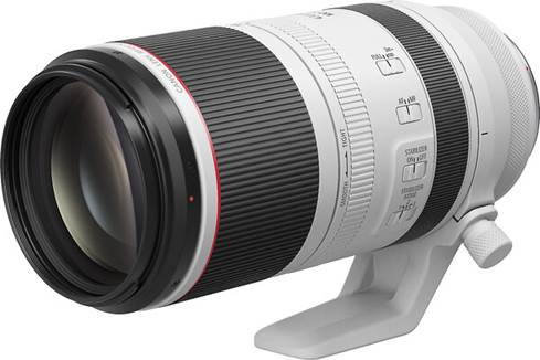 Canon RF 100-500mm f/4.5-7.1 L IS USM L Series super telephoto zoom lens