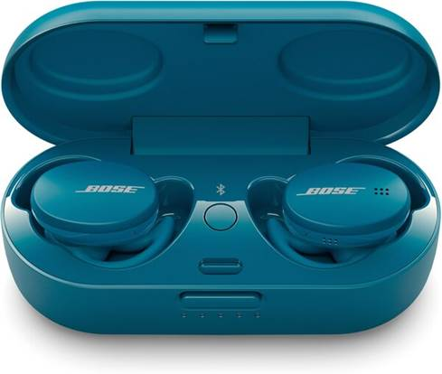 Bose Sport earbuds in case